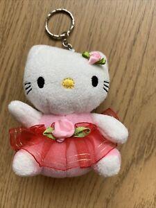 BN Hello Kitty Ballet Ballerina Dancer Keychain Key Ring
