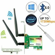 Ubit AC 1730Mbps Bluetooth 5.0 Wireless WiFi Card, 802.11 AC Dual-Band WLAN 1730