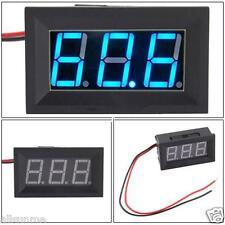 New 500ms DC4.5-30V 2 Wire Blue LED Panel LED Display Voltage Meter Voltmeter UK