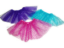 Lot of 3 Sparkly Basic Tutu Tutus 18 inch Doll Clothes Fits American girl dolls