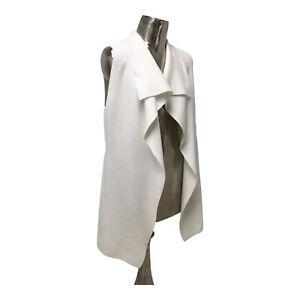 Marble NEW Ladies/Womens Cream Sleeveless Cardigan Top UK Size 8 (EU 36) RRP £72