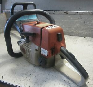 """VINTAGE COLLECTIBLE STIHL 026 PRO CHAINSAW WITH 20"""" BAR"""
