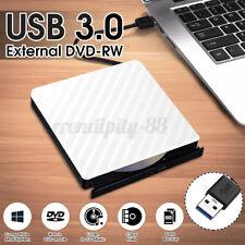Externes DVD-RW CD-RW Laufwerk USB 3.0 Brenner Slim Brenner für PC Laptop D !