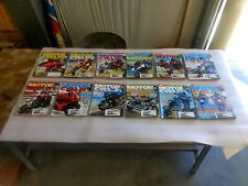 2007 Motorcyclist Motorcycle Magazine Lot 12 Issues FULL YEAR
