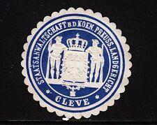 42050/ Siegelmarke - Staatsanwaltschaft - Landgericht - Cleve