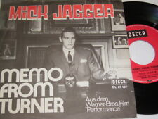 "7"" - Mick Jagger Memo from Turner & Natural Magic # 6464"