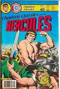 CHARLTON CLASSICS Presents HERCULES #1 1980 Charlton Bro0nze Age NM comic
