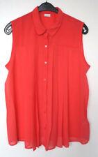 Maglie e camicie da donna Blusa rosso in poliestere
