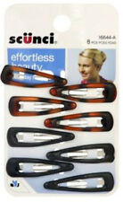 SCUNCI - Small Hair Clips - 8 Pack