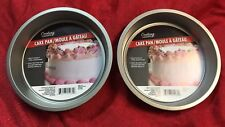 "Lot Of 2 Cooking Concepts Round Non Stick Cake Pan 8"" Inch"