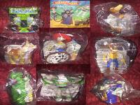 UK Mcdonalds Toy Story Movie Figures New & Sealed 2000 Happy Meal