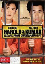 Harold and Kumar Escape from Guantanamo Bay NEW R4 DVD