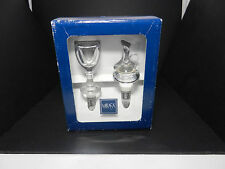 Mikasa Porto Bottle Stoppers Austria Leaded Crystal MIB