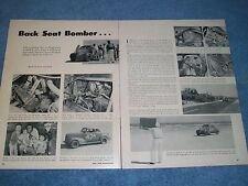 1956 Tim Flock Daytona Modified '39 Chevy Winner Vintage Article