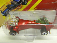 Johnny Lightning WASP Custom  Challenger Series RED MOVGC L.E w Numbered Button*