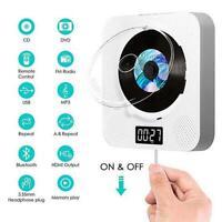 Wandmontierter DVD / CD-Player Bluetooth mit Staubschutz Fernbedienung MP3 VCD