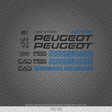 01518 Peugeot Altitude Bicycle Stickers - Decals - Transfers