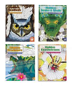 Creature Camouflage Colouring Books - Hidden Animals - MindWare