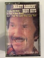 Marty Robbins Best Hits (Cassette)