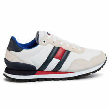 TOMMY HILFIGER TOMMYHILFIGER SNEAKERS UOMO ECO PELLE WHITE