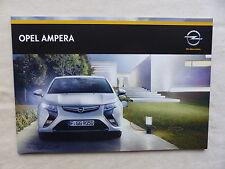 Opel Ampera - Prospekt Brochure 06.2014