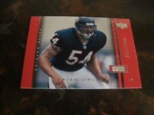 2000 Upper Deck Legends Football---Rookie---#105 Brian Urlacher (1161/2000)