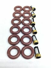 FUEL INJECTOR REPAIR KIT O-RINGS FILTERS 2004-2010 DODGE JEEP MITSUBISHI 3.7L V6
