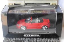AUDI TT ROADSTER 1999 BRILLANT ROT MINICHAMPS 1/43 CABRIOLET RED ROSSO ROUGE