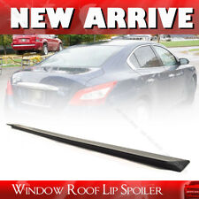 SHIP FROM LA- Unpainted For Maxima A35 V Style Rear Roof Lip Spoiler Sedan PUF
