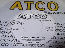 John Leyton: Make Love To Me / I'll Cut Your Tail Off 45