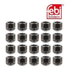 19mm Schl/üsselweite 24 Radmuttern chrom 12x1,25mm Nuts Muttern mit 60/° Konus