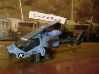 NEW 2016 MILITARY Matchbox MISSION HELICOPTER☆Navy Blue chopper; B TEAM☆LOOSE