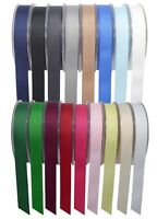 Full Reel Quality Grosgrain Ribbon 3mm6mm 10mm 15mm 25mm 40mm x 50/20meter