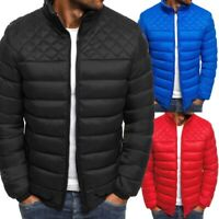 Coat Outwear Quilted Men's Bomber Padded Ultralight Parka Jacket Puffer Bubble
