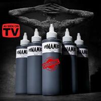 8 Oz Dynamic Black Tattoo Ink Lining Shading Tribal Liner Shader Pigment