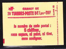 FRANCE CARNET 1972-C3a ** MNH carnet fermé, conf. N° 8, TB, cote: 140 €