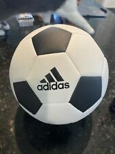 Adidas Soccer Ball Classic Retro Football Top Training Black White Size 5