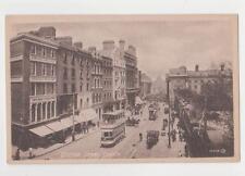Dublin,Ireland,Grafton Street,Trolley Cars,Leinster Province,c.1909