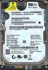 Western Digital WD3200BMVV-11GNWS0 DCM: DVNTJVBB 320GB