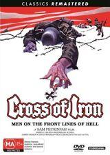 Cross of Iron DVD NEW (Region 4 Australia)