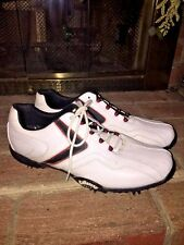 CALLAWAY X Series Xfer VIBE Dress Fenway MENS LEATHER GOLF SHOES SIZE 10.5