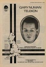 Gary Numan Telekon Tour Advert NME Cutting 1980