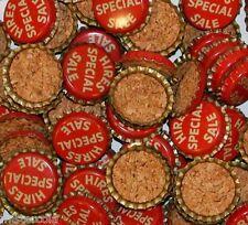 Soda pop bottle caps Lot of 25 HIRES root beer SPECIAL SALE cork new old stock