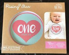 New In Box Rising Star Milestone Bell Stickers