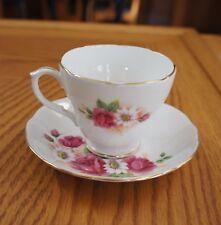 "DUCHESS ""Stella""  Cup & Saucer  Bone China ENGLAND"
