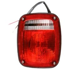 TRUCK-LITE 4027 - Signal-Stat, Incandescent, Red/Clear Acrylic Lens, Universal,