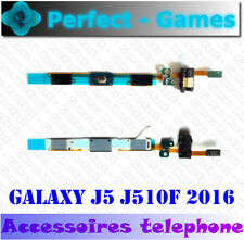 Samsung galaxy J5 J510F 2016 nappe bouton touche Home button touch prise jack