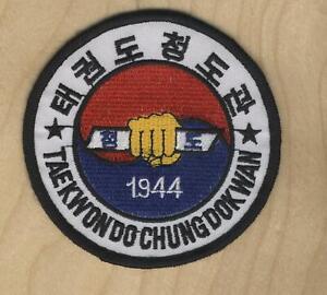 "Taekwondo Chung-Do-Kwan Patch 3.5"" PATCH AUTHENTIC"