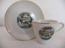 Vintage Missouri Souvenir Small Teacup and Saucer - Collectible