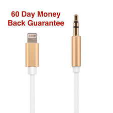 For iPhone 7 7 Plus Lightning to 3.5mm Male Jack AUX Audio Cord Dongle Cable
